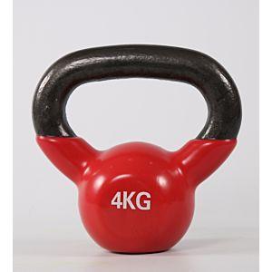 [ABsport] 包膠壺鈴4kg-紅