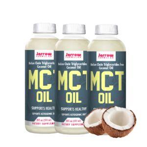 [Jarrow 賈羅公式] 中鏈三酸甘油脂MCT Oil(椰子油來源)(591毫升)(3入組)