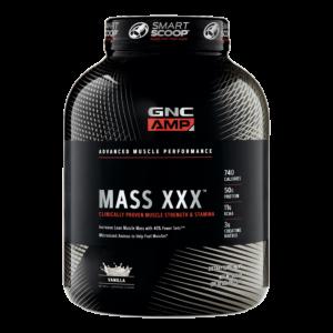 [GNC] AMP麥斯飲品(高熱量乳清) -香草(6.2磅/罐)