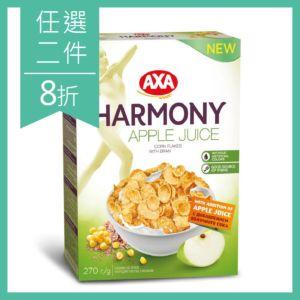 [瑞典 AXA] 蘋果風味麥麩玉米纖穀片 (270g)