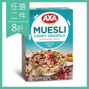 [獨家][瑞典 AXA] 亞麻籽莓果穀物麥片 (375g)