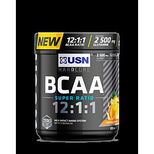 [南非 USN] BCAA 12:1:1支鏈胺基酸-熱帶水果口味(315g)