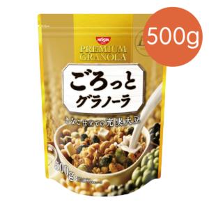 [日清Nissin]大豆穀物麥片(500g/袋) {效期: 2019-07-26}