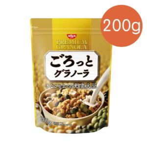 [日清Nissin]大豆穀物麥片(200g/袋) {效期: 2019-07-12}
