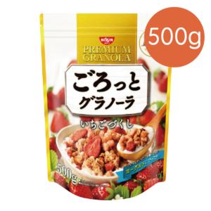 [日清 Nissin] 草莓穀物麥片(500g/包) {效期: 2019-02-21}
