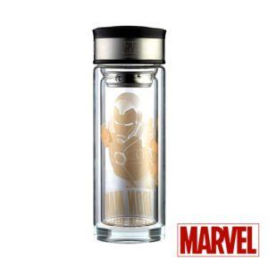 [Marvel] 復仇者聯盟-鋼鐵人雙層隔熱玻璃杯 (280ml)