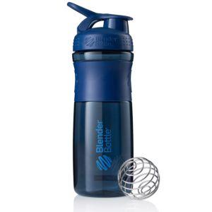 [Blender Bottle] SportMixer Grip(830ml/28oz)-軍艦藍