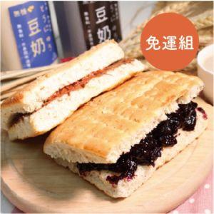 [豆豆客棧] 400ml不濾渣豆漿3入+佛卡夏5入 (免運)