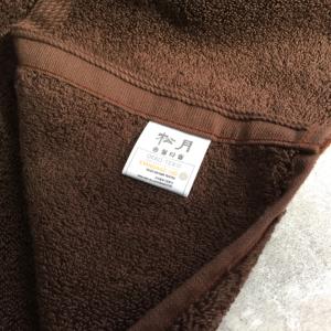 韓國松月毛巾-棕色-80X40cm
