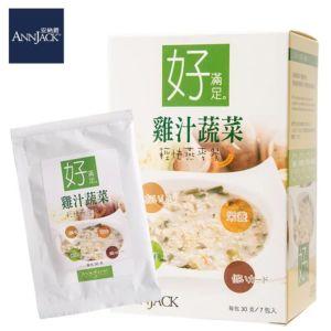[安納爵] 雞汁蔬菜輕快燕麥餐-好滿足(30G*7包)
