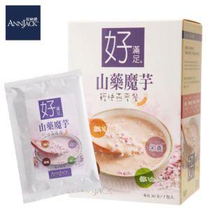 [安納爵] 山藥魔芋輕快燕麥餐-好滿足(30G*7包)