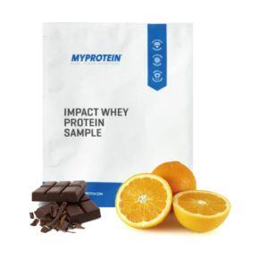 [英國 Myprotein] 濃縮乳清蛋白小包裝-柑橘巧克力口味(25g/袋)