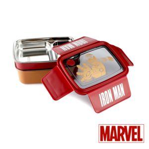 [Marvel] 復仇者聯盟-鋼鐵人雙層分隔便當盒 (1.3L)