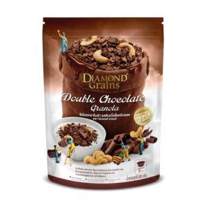 [泰國 DIAMOND Grains] 雙倍巧克力燕麥穀脆片-Mix Chocolate (220g)