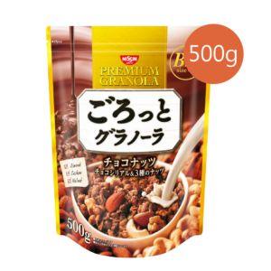[即期品] [日清 Nissin] 巧克力堅果麥片 (500g/包) {效期: 2019-04-10}
