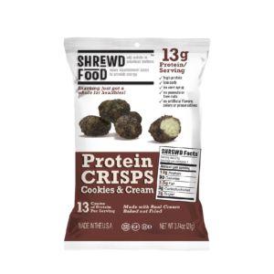[美國 Shrewd Food] 低碳高蛋白泡芙-巧克力奶霜(21g/包)