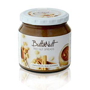 [ButtaNutt] 肉桂夏威夷豆醬(250g/罐)