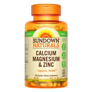 [Sundown 日落恩賜] 勇健鈣鎂鋅綜合錠(100錠)