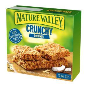 [NATURE VALLEY 天然谷] 纖穀派-椰子燕麥 (42gx5包x5盒)