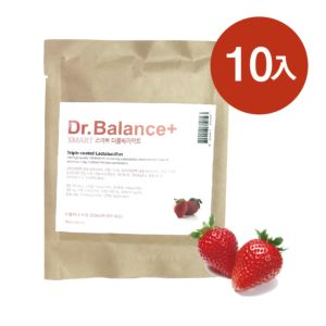 [韓國 Dr. Balance+] 乳清蛋白-繽紛草莓(10包/組)