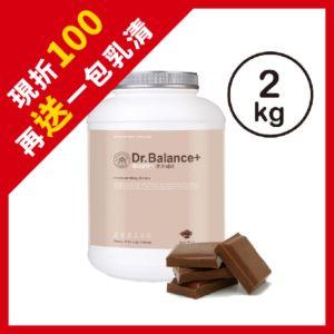 [韓國 Dr. Balance+] 綜合蛋白-濃郁巧克力(2kg/罐)(含湯匙)
