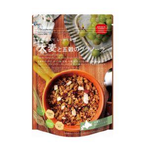 [日本 Nisshoku] 北海道大麥五穀早餐燕麥片 (240g/包)