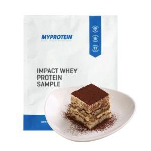 [英國 Myprotein] 濃縮乳清蛋白小包裝-提拉米蘇口味(25g/袋)