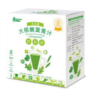 [義美生機] 大根嫩葉青汁(60g/盒)