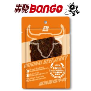 [犇馳 Bango] 原味原切牛肉(20g/片)