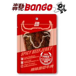 [犇馳 Bango] 辣味原切牛肉(20g/片)