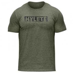 [美國 Hylete] 訓練短袖-潑墨-橄欖綠