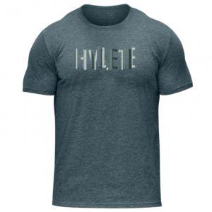 [美國 Hylete] 訓練短袖-幾何-靛青