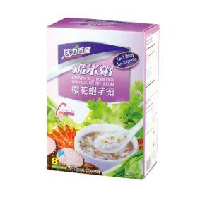 [活力百匯] 櫻花蝦芋頭糙米粥(40gX6入)