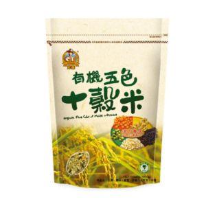 [米森 vilson] 有機五色十穀米(900g/包)