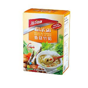 [活力百匯] 香菇竹筍糙米粥(40gX6入)