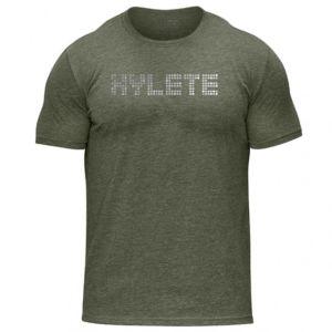 [美國 Hylete] 訓練短袖-橄欖綠灰點