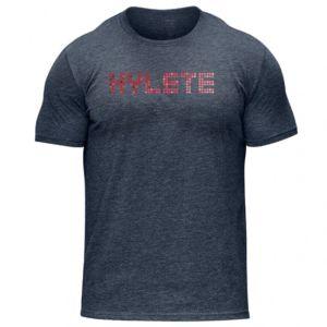 [美國 Hylete] 訓練短袖-藍底紅點