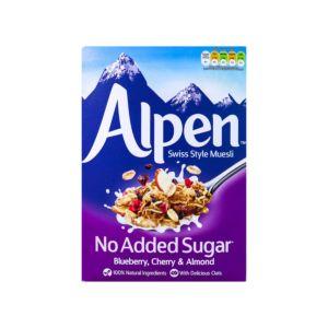 [Alpen歐寶] 無加糖藍莓櫻桃杏仁營養麥片 (560g/盒)