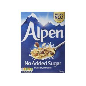 [Alpen歐寶] 無加糖榛果杏仁營養麥片 (560g/盒)