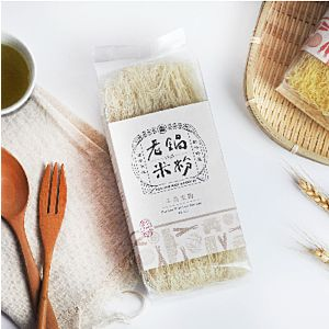[老鍋米粉] 牛蒡純米米粉 (50g*4片/包)