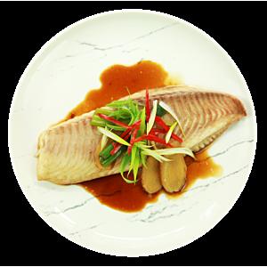 [原味時代] 健康調理餐:蔥拌紅燒鯛魚3餐