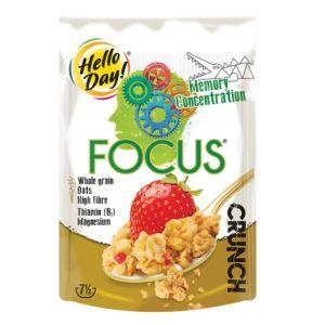 波蘭 HelloDay! FOCUS專注能量酥脆穀物 (225g)