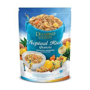 [泰國 DIAMOND Grains] 熱帶水果燕麥穀脆片-Tropical Fruit (220g)