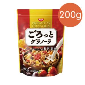 [日清Nissin]奢華楓糖水果麥片(200g/袋) {效期: 2019-07-08}