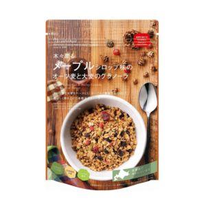 [日本 Nisshoku] 北海道楓糖味早餐燕麥片 (240g/包) {效期: 2019-04-02}