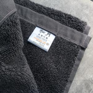 韓國松月毛巾-灰色-80X40cm
