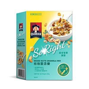 [桂格] 穀添樂綜合堅果脆穀 (300g/盒)