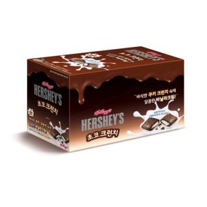 [家樂氏] Hershey's 巧克力脆皮牛奶夾心 (50g*6入/盒)