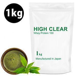 [日本 High Clear] 濃縮乳清蛋白-日式抹茶口味(1kg/袋)
