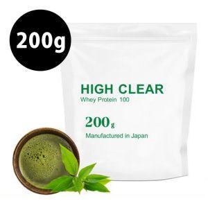[日本 High Clear] 濃縮乳清蛋白-日式抹茶口味(200g/袋)